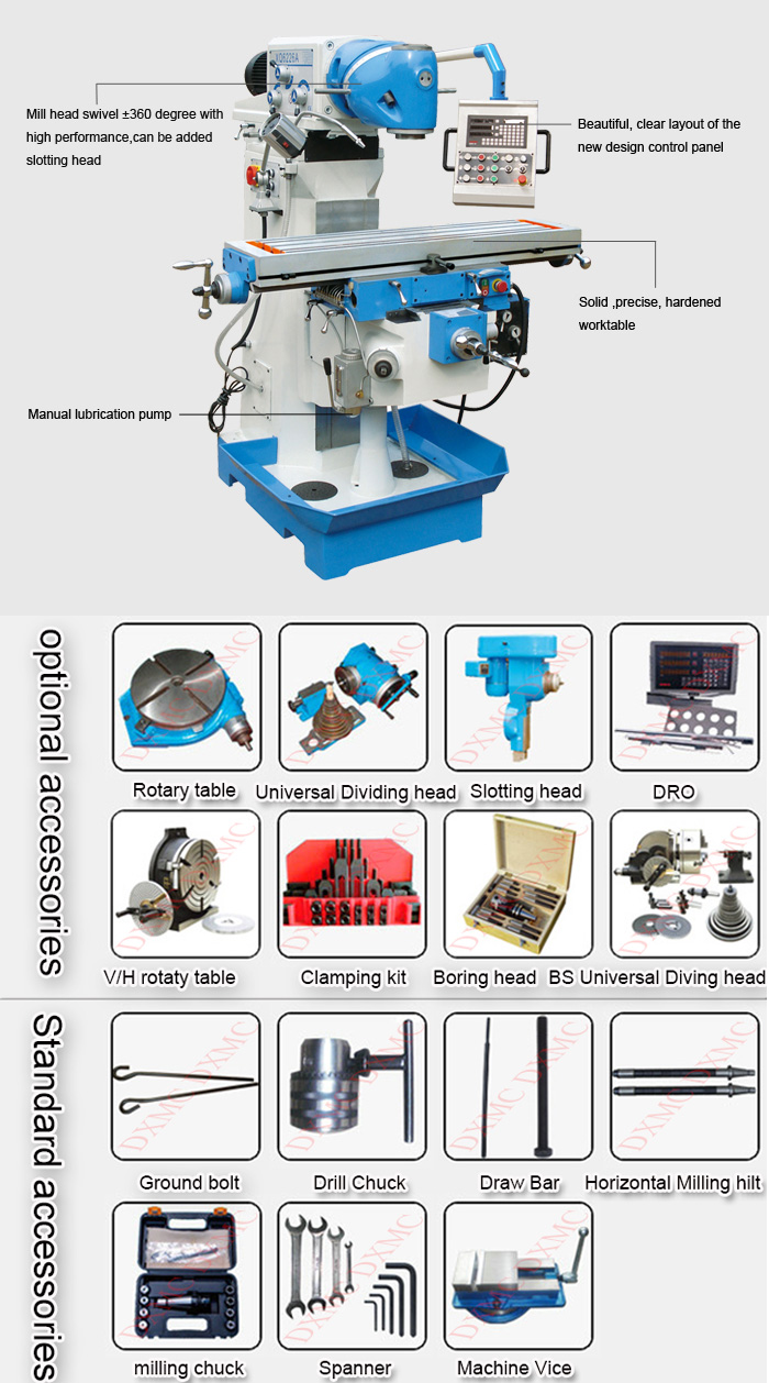 Universal Milling Machine XQ6226A Picture